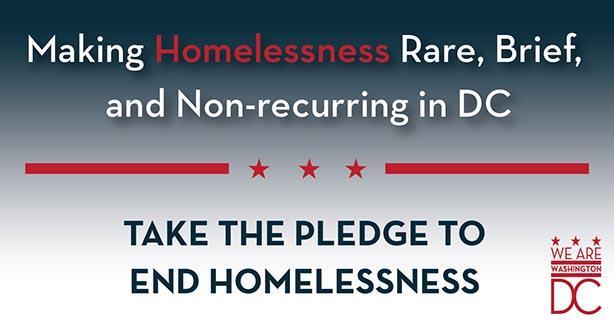 Take the Pledge to End Homelessness