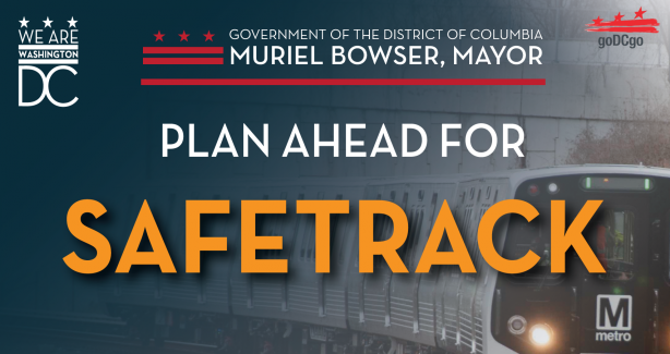 Plan ahead for SafeTrack