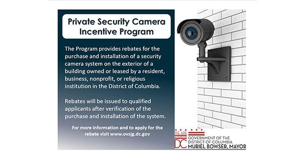 Private Security Camera Incentive Program