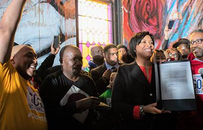 Mayor Bowser Signs Bill to Designate Go-Go Music as the Official Music of DC